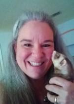 FriskyBiznus Ferret Sanctuary Shelter Director Susan Baker