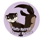 Fluffy Retreat Ferret Rescue Logo