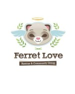 Ferret Love Rescue & Community Group Logo